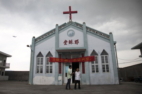 The Wuxi Christian Church in China's Zhejiang Province. The authorities have issued demolition notices to more than 100 churches in the area. Credit Didi Tang/Associated Press