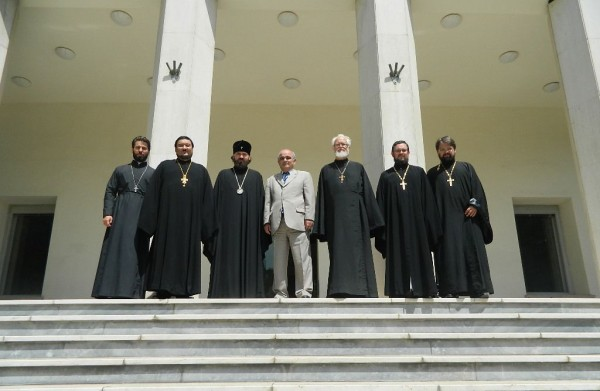 Church Delegation arrives in Islamic Republic of Iran