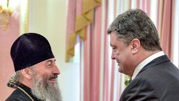 President of Ukraine meets with Primate of Ukrainian Orthodox Church
