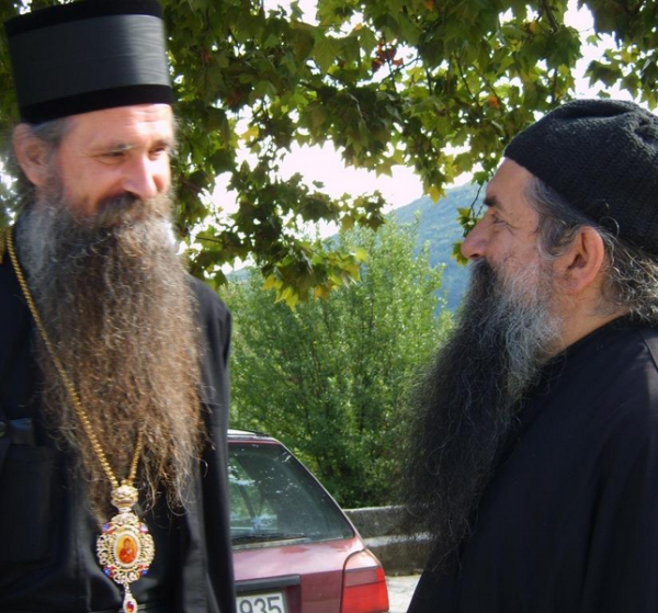 Bishop Joanikije of Budimlja and Niksic and Archimandrite Luka (+February 8, 2012)