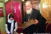 Patriarch Meets the Little Girl He Previously Asked to Have Adopted