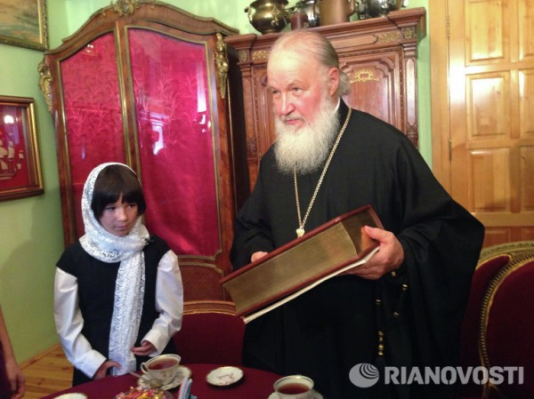 Patriarch Kirill: I Believe That Kindness Has Not Left Our People