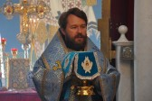 Metropolitan Hilarion of Volokolamsk celebrates Liturgy at the place of Christ's baptism on Feast Day of Nativity of Most Holy Theotokos