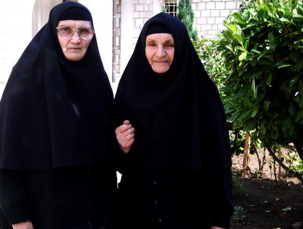 Nuns Olimpiada and Kristina