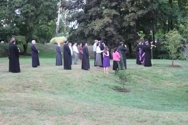 "Archbishop Melchisedek ""goes green"" with St. Vladimir's Seminary"