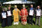 Metropolitan Tikhon hosts celebration at Chancery's St. Sergius Chapel