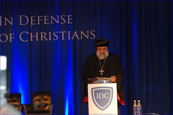 Assyrian Orthodox Patriarch Delivers Keynote Speech at In Defense of Christians Summit