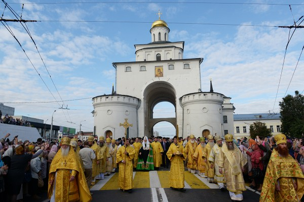 Primate of Russian Church leads celebrations marking 800th anniversary of Vladimir Diocese