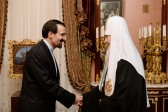Patriarch Kirill meets with Iran's Ambassador to Russia
