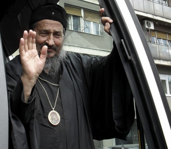 Retired Bishop Atanasije (Jevtic) of Zahum and Hercegovina
