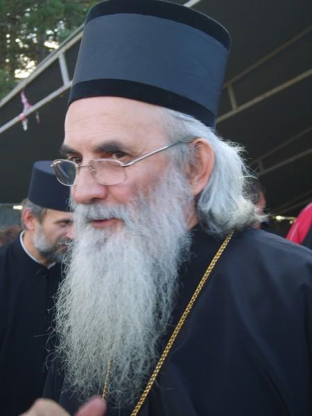Bishop Milutin of Valjevo