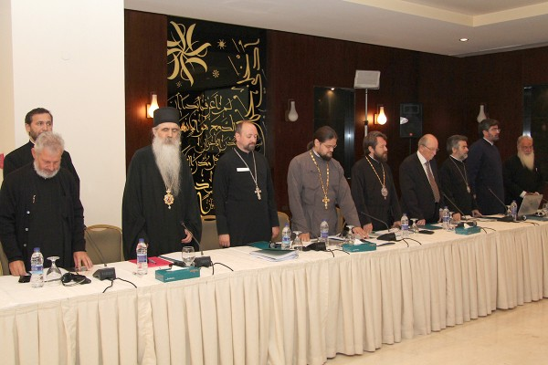 Metropolitan Hilarion addresses Orthodox participants in 13th session of joint commission for Orthodox-Catholic dialogue