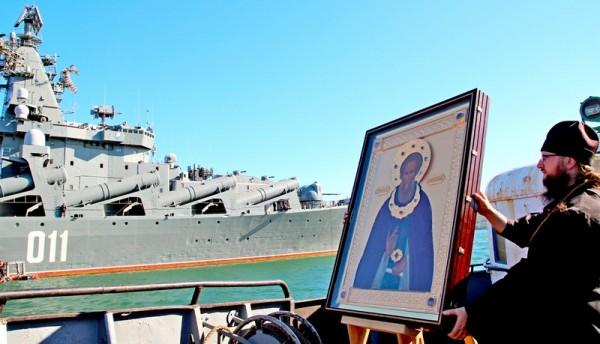 """Blessing of the cruiser """"Varyag"""""""