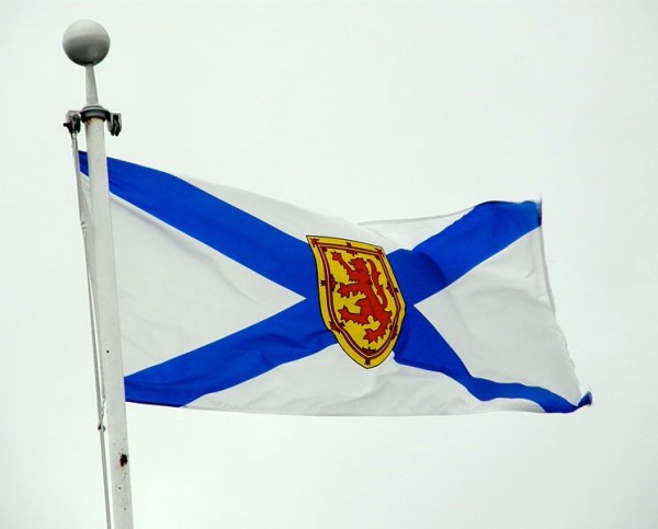 The flag of Canada's New Scotland, Nova Scotia