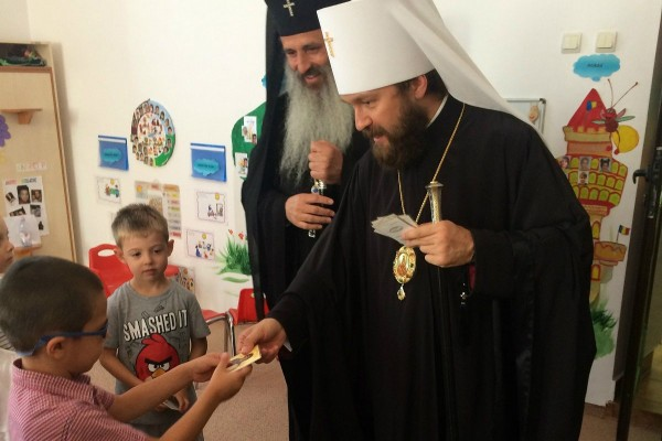 Metropolitan Hilarion of Volokolamsk completes his pilgrimage to Romania