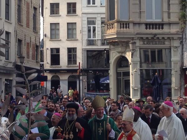 Russian Orthodox Church delegation attends interreligious forum in Antwerp