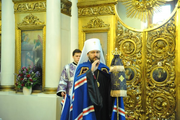 Metropolitan Hilarion: The talents and abilities of those who decided to dedicate their life to God will bring forth a hundredfold fruit