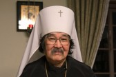His Holiness Patriarch Kirill greets Metropolitan Daniel of Tokyo and all Japan with his name day