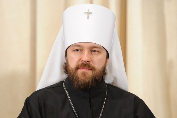 Metropolitan Hilarion compares Europe with the atheistic Soviet Union