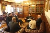 Metropolitan Hilarion meets with German Ambassador and Bundestag Member