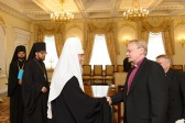 Patriarch Kirill meets Primate of the Evangelical Lutheran Church of Finland