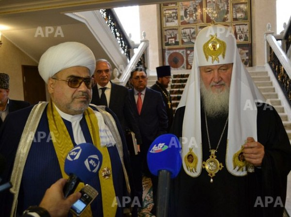 """There is no need to improve relations between the Orthodox and the Muslim world."""