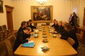 Metropolitan Hilarion of Volokolams meets with Primate of the Evangelical Lutheran Church of Finland