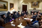 Five Christian Patriarchs meet with President Obama at the White House