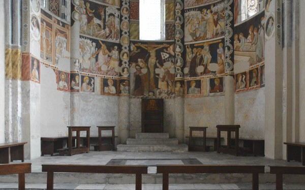 A Story in Pictures: Frescoes of the Basilica of Sant'Abbodino, Como, Italy