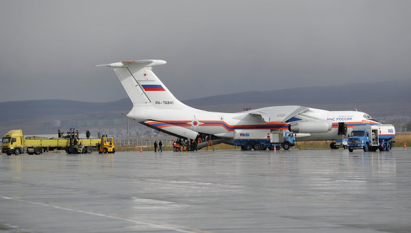Russian Plane to Deliver Humanitarian Aid to Syria: Emergencies Ministry