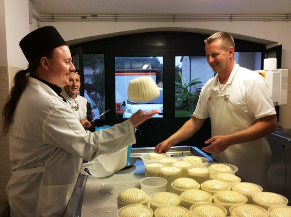 The Valaam Monastery to produce Italian sorts of cheese