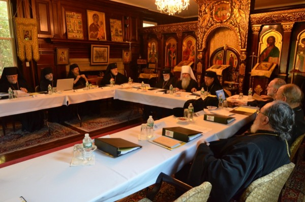 Holy Synod of Bishops meets for fall session