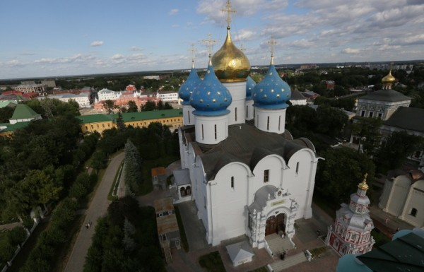 A Virtual Tour of the Trinity-Sergius Lavra Begins
