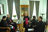 Metropolitan Hilarion meets with Grand Master of the Order of the Holy Sepulchre of Jerusalem