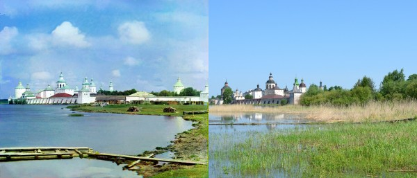 Monastery of St. Cyril of White Lake. 1909/2013. (V. Ratnikov)