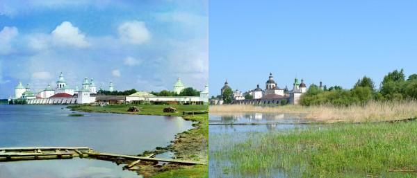 Monastery of St. Cyril of White Lake. 1909/2013. (V. Ratnikov)