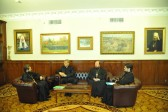 Metropolitan Hilarion meets with General Secretary of the World Council of Churches