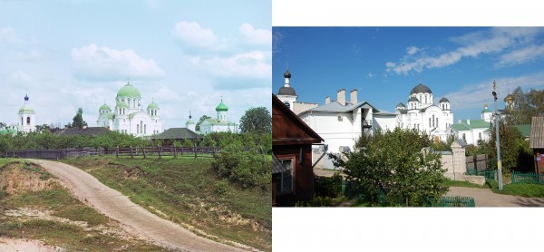 The Spaso-Euphrosyne Convent three versts from the town of Polotsk. View from the south. 1912/2012. (Maxim, Brest)