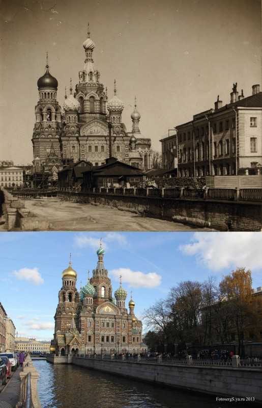 Church of the Resurrection on the Blood. St. Petersburg. 1905/2013 (Sergei Sharov)