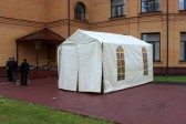 Orthodox Church Tent Opens in Kemerovo