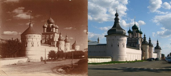 The Kremlin from the northwest. Great Rostov. 1911/2009 (V. Ratnikov
