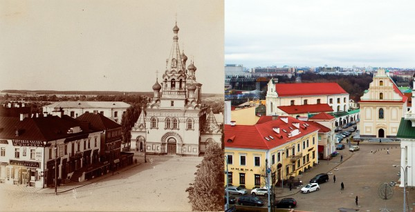Minsk. Cathedral of Sts. Peter and Paul. 1912/2012 (Dmitry Bahir)
