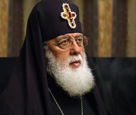 Georgian patriarch urges rapprochement with Russia