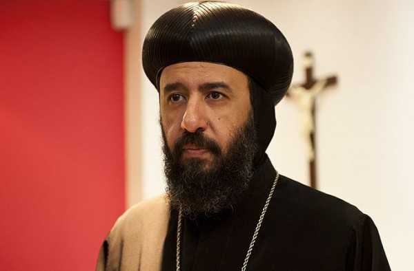 Coptic Bishop Angaelos visits second largest refugee camp in world