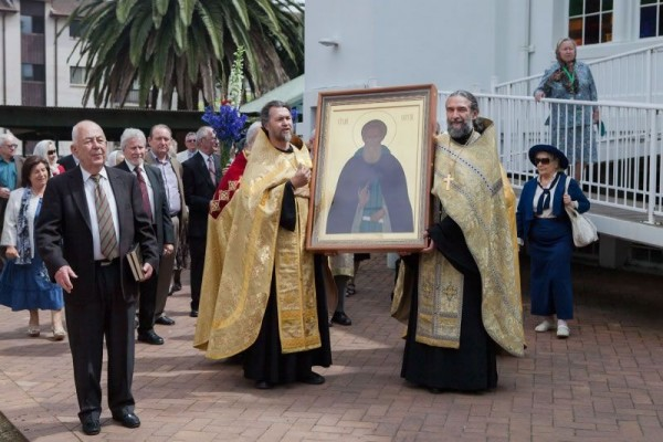 The 700th Anniversary of the Birth of St Sergius of Radonezh is Celebrated in Cabramatta