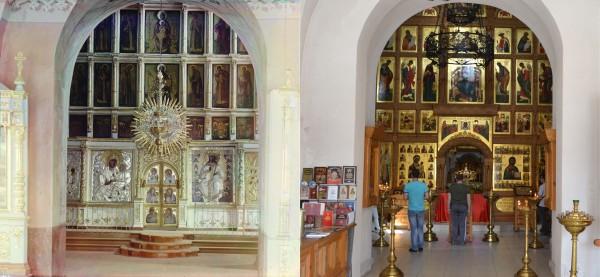 Iconostasis in the Dormition Cathedral in the Staritskiy Monastery. 1910/2013 (V. Ratnikov)