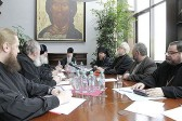 Sretensky Monastery in Moscow Hosts a Meeting of the Inter-Council Presence on Church Law