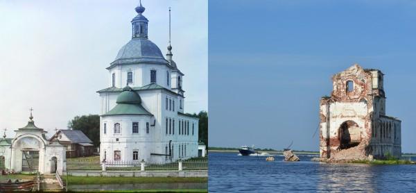 Church of the Nativity of Christ in Krokhino. 1909/2013. (V. Ratnikov)