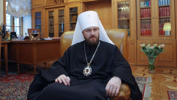 Metropolitan Hilarion on  the Institution of the Family and the Civic Conflict in Ukraine