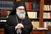 Patriarch John X of Antioch thanks the ROC for Rendering Aid to the Civilian Population of Syria